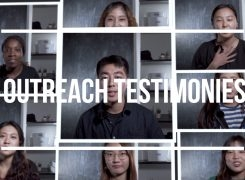 Outreach TESTIMONIES!