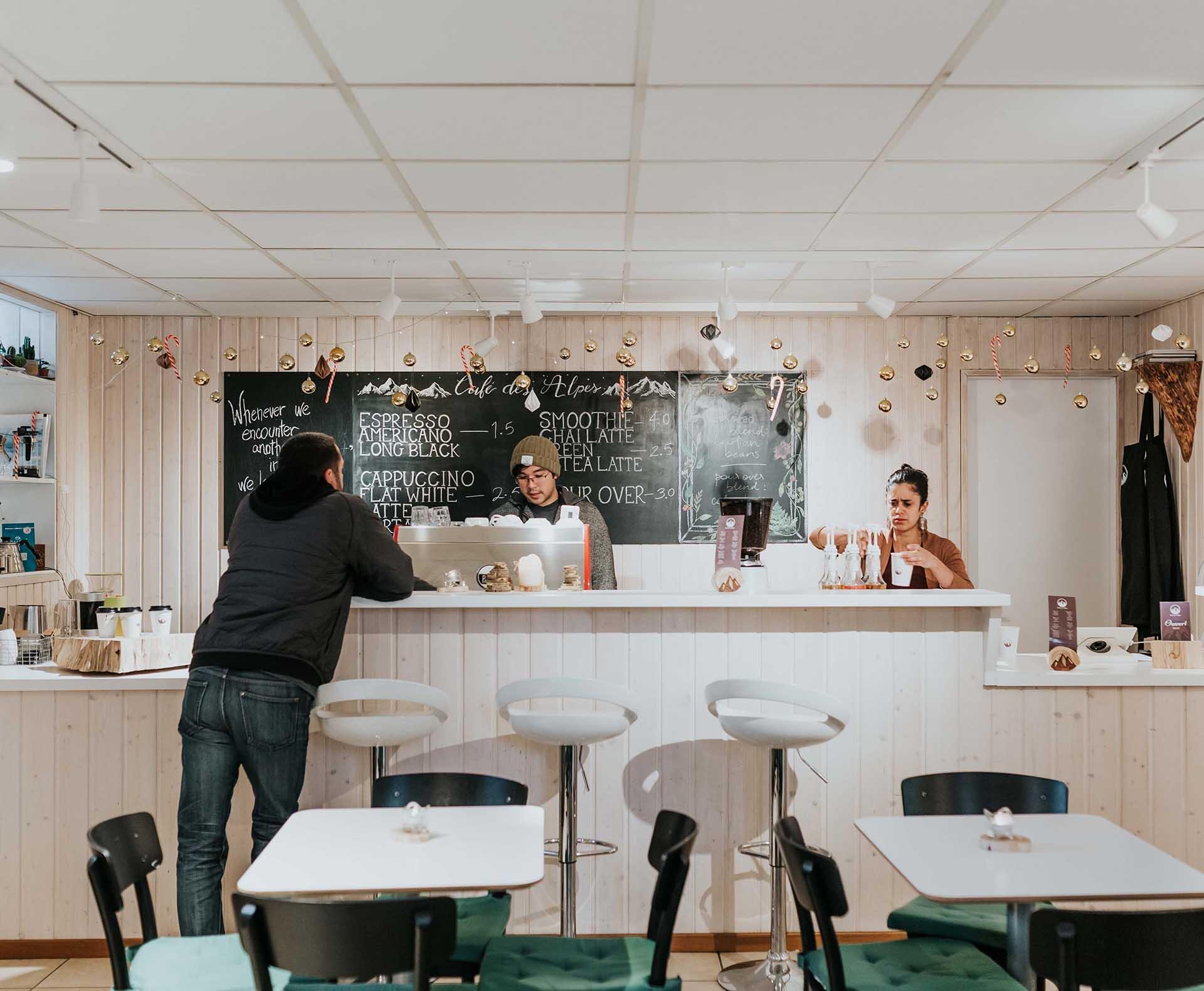 CAFE DES ALPES
